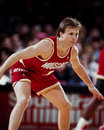 Scott brooks houston rockets image taken from color slide Royalty Free Stock Photos