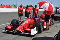 Scott Dixon pit crew Royalty Free Stock Images