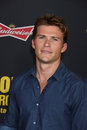 Scott eastwood los angeles ca march at the premiere of sabotage at regal cinemas l a live Royalty Free Stock Images