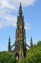 The Scott Monument Stock Images