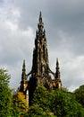 Scott monument sir walter edinburgh scotland uk photo taken on sep Stock Photos