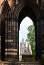 Scott monument victorian gothic to scottish author sir walter in edinburgh Stock Photography