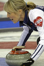 Scotties curling smith-dacey rock Royalty Free Stock Photography