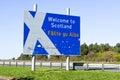Scottish border Royalty Free Stock Photo