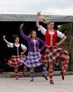 Scottish Dancers Royalty Free Stock Photo