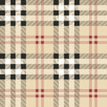 Scottish fabric pattern vintage seamless this vector illustration is layered for easy manipulation and custom coloring Royalty Free Stock Photos
