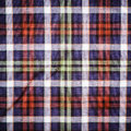 Scottish Green Blue Plaid Stock Photos