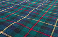 Scottish highland tartan weave Royalty Free Stock Images