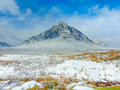 Scottish highlands scenic glencoe scotland at buachaille etive mor Stock Photo