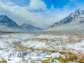 Scottish highlands scenic glencoe scotland at buachaille etive mor Stock Photos