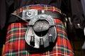 Scottish kilt Royalty Free Stock Photo