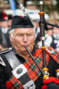 Scottish Piper Stock Photos