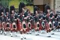 Scottish Pipes at Edinburgh Military Tattoo Royalty Free Stock Photo