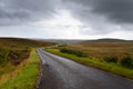 Scottish road trough countryside Royalty Free Stock Photo