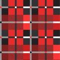 Scottish seamless pattern. Vector illustration