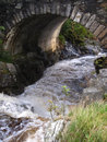 Scottish Stone Bridge Stock Photography