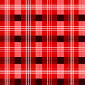 Scottish tartan texture shades of red Stock Image