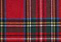 Scottish tissue textured lines high resolution typical with red background Stock Photos