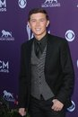 Scotty McCreery at the 47th Academy Of Country Music Awards Arrivals, MGM Grand, Las Vegas, NV 04-01-12 Royalty Free Stock Images