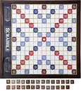 Scrabble Board & Tiles Royalty Free Stock Photo
