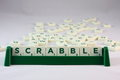 Scrabble game Royalty Free Stock Photo