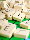 Scrabble Letters Royalty Free Stock Photo