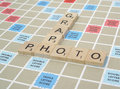 Scrabble Pieces 3 Royalty Free Stock Photo