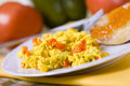 Scrambled Tofu Stock Photography