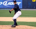 Scranton Wilkes Barre Yankee pitcher George Kontos Royalty Free Stock Photo