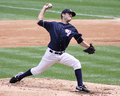 Scranton wilkes barre yankees pitcher david phelps fires a pitch Royalty Free Stock Photo