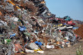 Scrap heap Stock Image