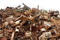 Scrap metal Royalty Free Stock Photo
