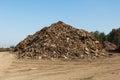 Scrap metal heap Royalty Free Stock Photo