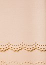 Scrap paper with lace beige color and natural texture Stock Photos