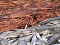 Scrap yard background Royalty Free Stock Image