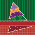Scrapbook christmas card Royalty Free Stock Photography