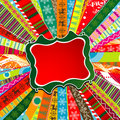 Scrapbook christmas patterns Stock Photography