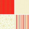 Scrapbook christmas patterns for design Stock Images