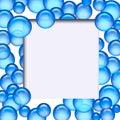 Scrapbook photo frame Stock Photo