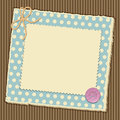 Scrapbooking layout Royalty Free Stock Image