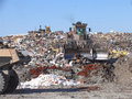 Scrapyard scenery Royalty Free Stock Images