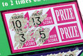 Scratch Ticket Stock Images
