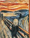 The Scream 1893 by Edvard Munch Royalty Free Stock Photo