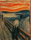 The Scream by Munch Royalty Free Stock Photo