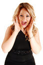 Screaming woman. Royalty Free Stock Photography