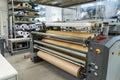 Screen Printing Material Rolls Shelf Machine Industrial Professi