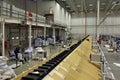 Screening plant vnukovo moscow region russia apr russian post logistics center in vnukovo Stock Photography