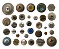 Screws collection Royalty Free Stock Photos