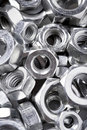 Screws and nuts Royalty Free Stock Photo