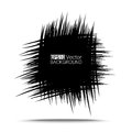 Scribble square simple hand drawn eps vector for your design Stock Images